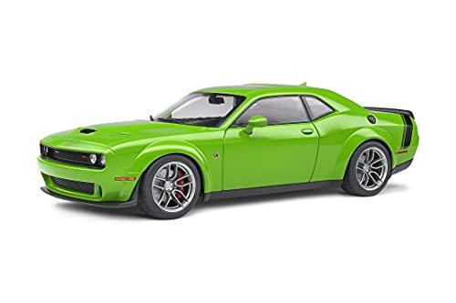 Solido Dodge Challenger, R/T Scat Pack Widebody, 2020, Modellauto, Maßstab 1:18, grün, S1805704