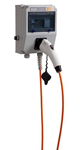 Elektroauto Wallbox/Ladestation'Walli Light Pro' 7,4 kW / 32A / 1-phasig/Stecker Typ 1 / mit 5 Meter...