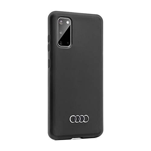 Audi collection 3222000202 Smartphone Case Schutzhülle Cover Mobiltelefon, für Samsung S20, Schwarz