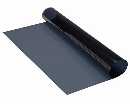 Tönungsfolie MIDNIGHT Superdark ist von außen blau-schwarz, von innen aber absolut transparent