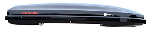 Kamei Dachbox Oyster 450 Liter - schwarz hochglänzend - Ausstellungsstück