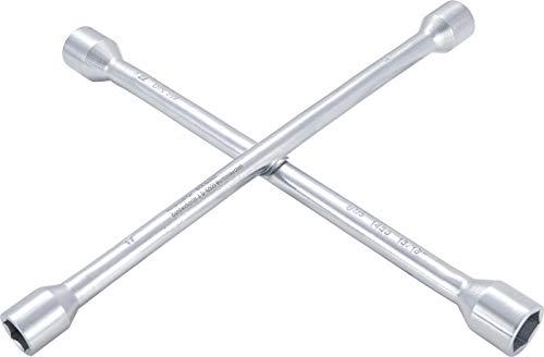 BGS 1455 | Rad-Kreuzschlüssel | für PKW | SW 17mm x 19 mm x 22 mm x 13/16' | für Radmuttern