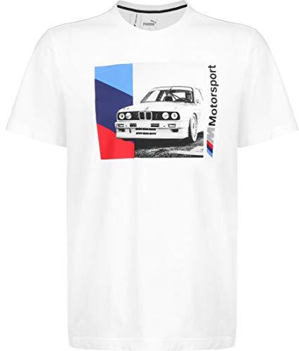 PUMA BMW MMS Graphic T-Shirt White