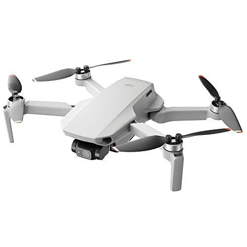 DJI Mini 2 - Ultraleichter und faltbarer Drohnen-Quadkopter, 3-Achsen-Gimbal mit 4K-Kamera, 12MP Foto, 31...