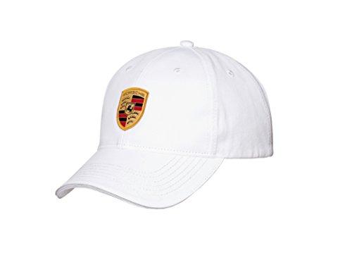 Porsche Crest Logo White