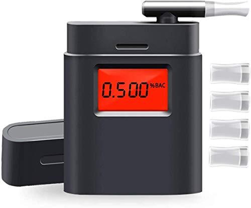 LiveRowing Professioneller Alkoholtester Tragbar Halbleiter Sensorik Digitaler Atemalkohol LCD Anzeige...