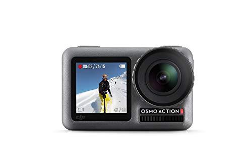 DJI Osmo Action Cam - Digitale Actionkamera mit 2 Bildschirmen 11m wasserdicht 4K HDR-Video 12MP 145°...