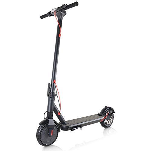Windgoo Elektroroller, 8.5' Elektro Scooter mit 6.0 Ah Batterie, Faltbarer E Scooter Maximale...