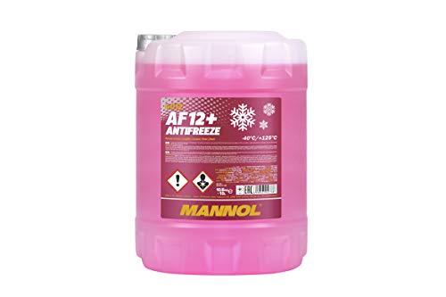 MANNOL Antifreeze AF12+ Kühlerfrostschutz 10 Liter für G12+