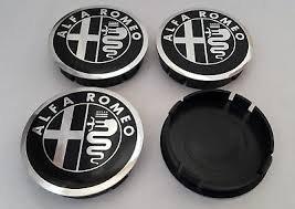 Alfa Romeo Radnabenkappen für Alufelgen