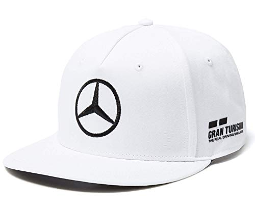 Mercedes AMG Petronas Lewis Hamilton Flat Cap Formel 1 F1 Motorsport 2018