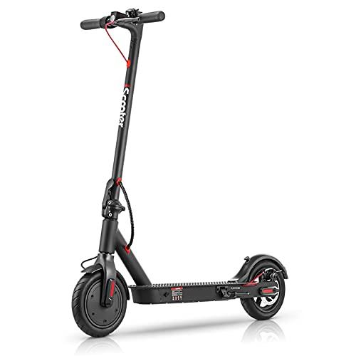 Elektroroller für Erwachsene Last 120kg, i9P E Scooter 25 km/h, 350W Motor | bis zu 25km Reichweite |...