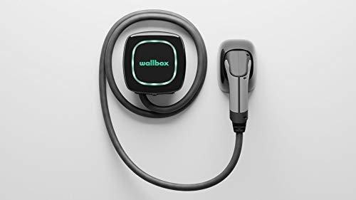 Wallbox Pulsar Ladesystem für Elektroautos Ladeleistung bis zu 22kw, Stecker- Typ 2, Kabellänge 7 Meter