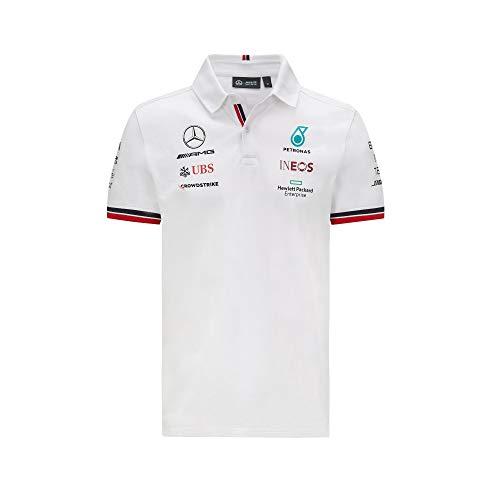Mercedes-AMG Petronas - Offizielle Formel 1 Merchandise 2021 Kollektion - Herren - Polo - Kurze Ärmel -...