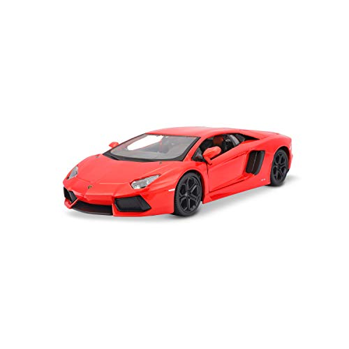 Maisto 31210 Lamborghini Aventador LP 700-4 Modellauto im Maßstab 1:24, orange