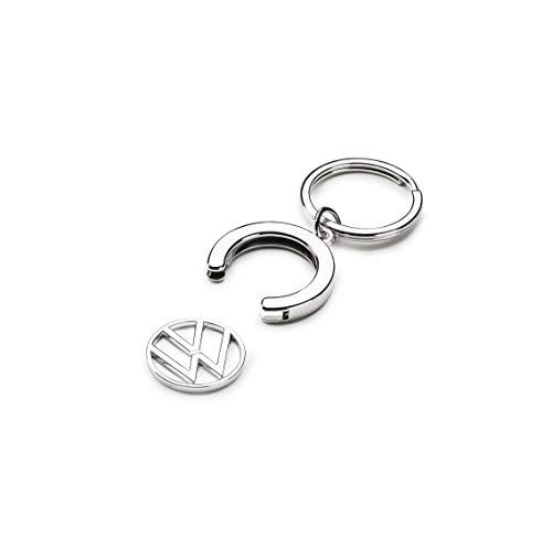 Volkswagen 000087010BT Schlüsselanhänger Pfandchip Einkaufswagenchip Keyring Anhänger, mit neuem VW...