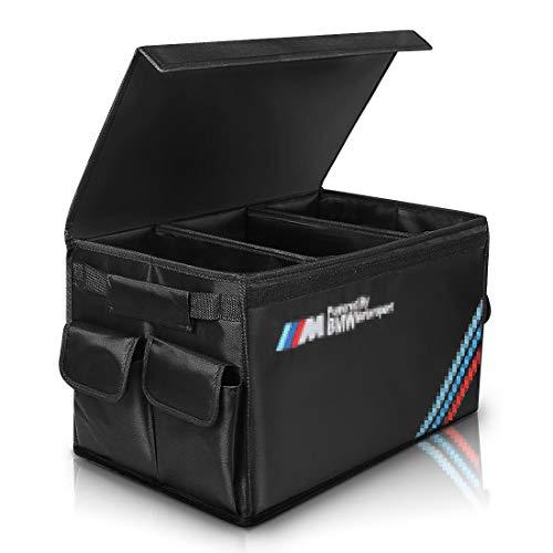AUTOPRE MODIFY Kofferraum Organizer Auto, Kofferraumtaschen mit Klett & Seitentaschen, Tragbar Multi...