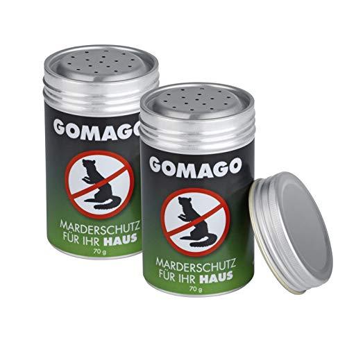 GOMAGO Marderschutz Set für Ihr Haus 2er Set | Zuverlässige und einfache Mardervergrämung durch...