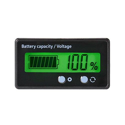 LCD-Batterie-Kapazitäts-Monitor-Messgerät-Meter,12V / 24V / 36V / 48V...