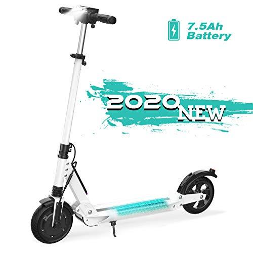GeekMe Elektro Scooter Cityroller Bis zu 30 km/h|Faltbarer Elektroroller mit LCD-Display|7.5A Li-Ion...