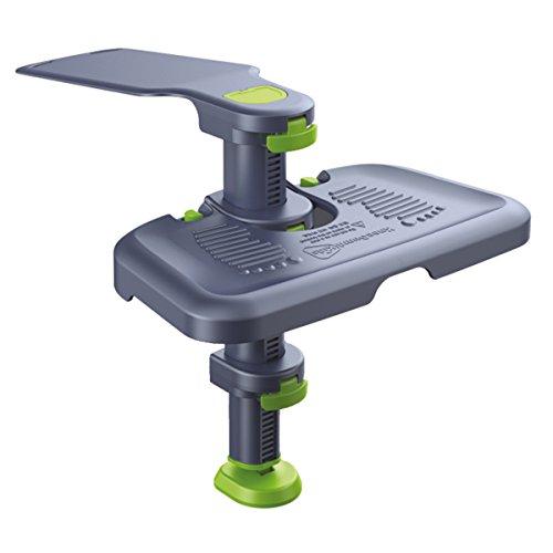Fußstütze Kneeguardkids3 für den Kinder-Autositz, schützt die Knie, passend für ISOFIX