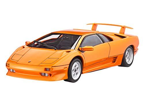 Revell Modellbausatz Auto 1:24 - Lamborghini Diablo VT im Maßstab 1:24, Level 4, originalgetreue...