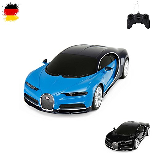 Original Bugatti Chiron, Lizenz-Auto, RC Ferngesteuertes Fahrzeug, lizenziert, Modell-Maßstab 1:24,...