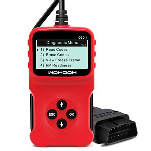 WOHOOH Obd2 Diagnosegerät, Vcds Auslesegerät Auto OBD II Carly Adapter,OBD Code Scanner für Allen...