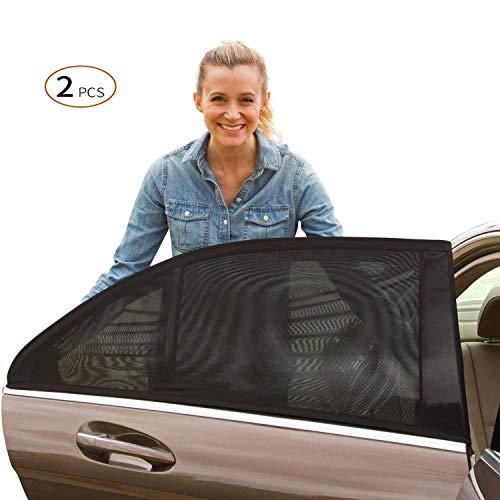 Viccioo Sonnenschutz Auto für Baby Kinder, Universelle Autofenster Sonnenblenden mit UV Schutz für...