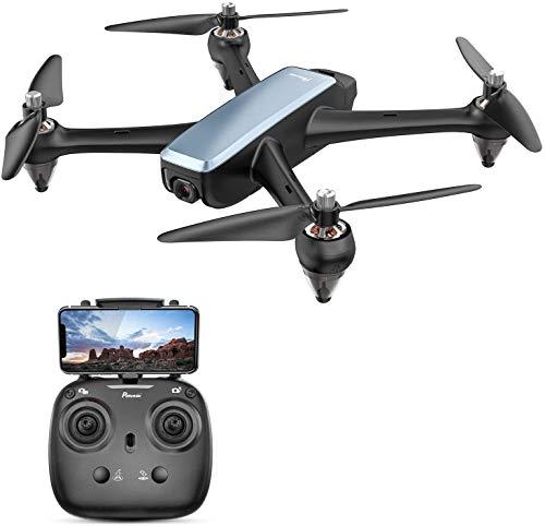 Potensic D60 FPV Drohne mit 1080P HD GPS Return Home, RC Quadrocopter mit Bürstenlose Motoren, 5G live...