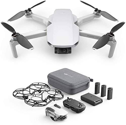 DJI Mavic Mini Fly More Combo (EU) – Drohne und Zubehör Kit, leicht und tragbar, Flugzeit: 30 Min,...