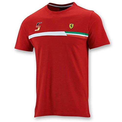 FERRARI F1 Herren T-Shirt, rot, M