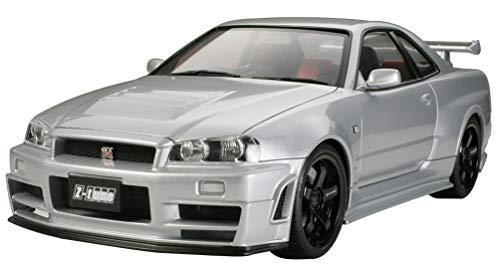 TAMIYA 24282 1:24 NISMO Skyline GT-R Z-Tune (R34), Modellbausatz,Plastikbausatz, Bausatz zum...