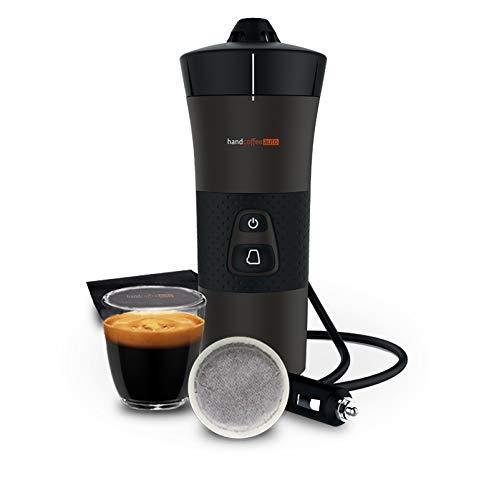 Handpresso - NEUE Handcoffee Auto 12V 21000- Kaffeemaschine für das Auto, Tragbare Kaffeemaschine mit...