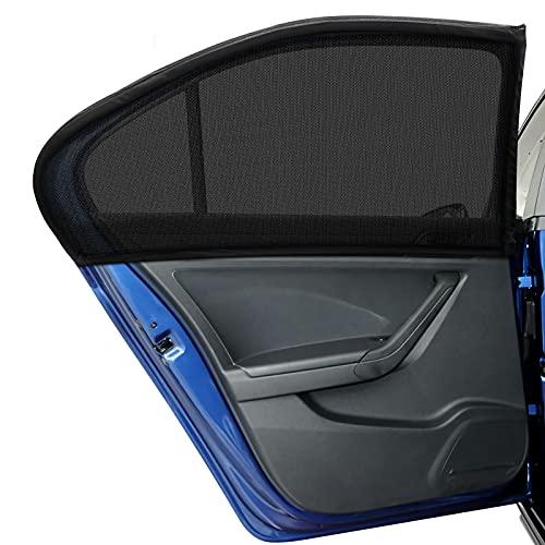 DIZA100 Auto Sonnenschutz für Großer Wagen SUV MPV Kinder Baby Erwachsene Haustiere, 2 Stück Universal...