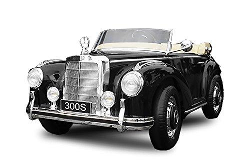 Toyas Mercedes Benz 300s Oldtimer Lizenz Kinderfahrzeug mit 2X 35W Motor Kinderauto Elektroauto...
