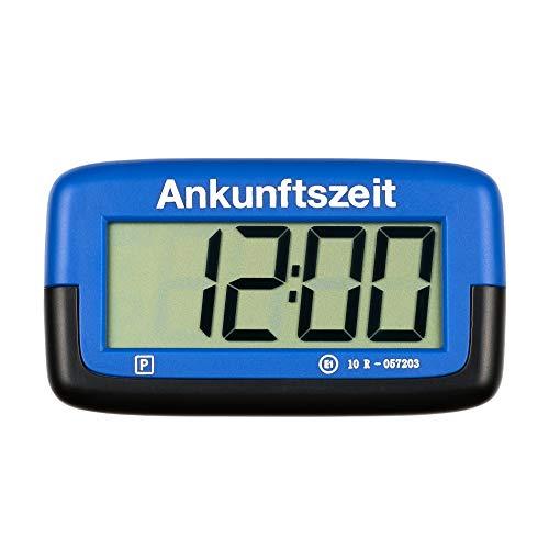 PS1800 Park Micro vollautomatische Parkscheibe mit Zulassung I Digitale Parkuhr Mikro blau mit Batterie...