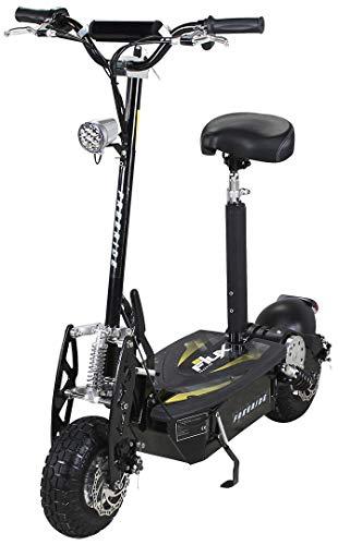 E-Scooter Roller Original E-Flux Freeride 1000 Watt 48 V mit Licht und Freilauf Elektroroller E-Roller in...
