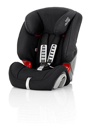Britax Römer Kindersitz, 9 - 36 kg, EVOLVA 123 Autositz Gruppe 1/2/3, cosmos black