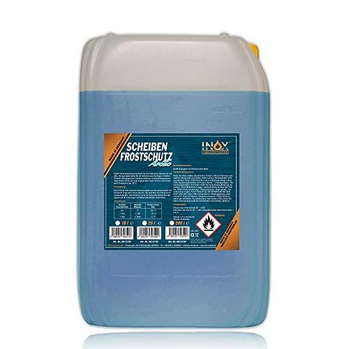 INOX® Arctic Scheibenfrostschutz Konzentrat, 25L - Auto Frostschutzmittel Scheibenwaschanlage für...