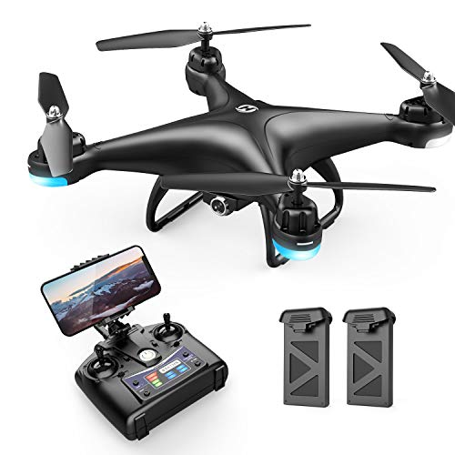 Holy Stone HS110D FPV Drohne mit 1080P Kamera HD WiFi Live Übertragung 120° Weitwinkel RC Quadrocopter...