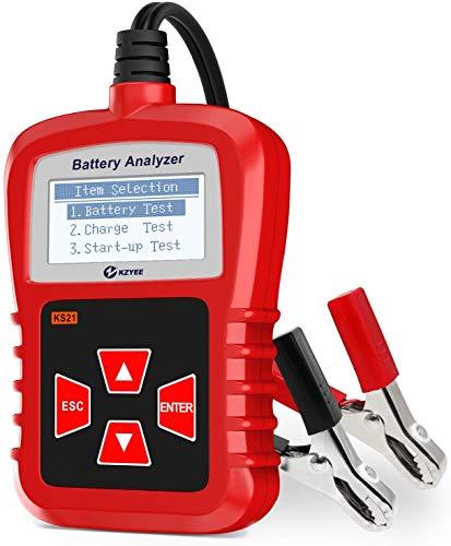 KZYEE KS21 Automatischer Auto Batterietester, 12V CCA Testgerät Digital Analyzer Batteriezustand...