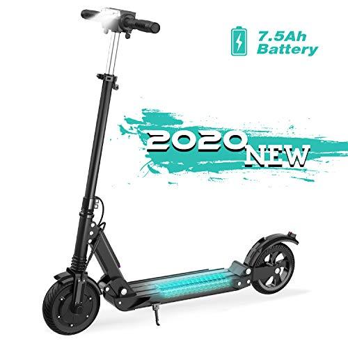 GeekMe Elektro Scooter E-Scooter Cityroller Bis zu 30 km/h Faltbarer Elektroroller mit LCD-Display 7.5A...