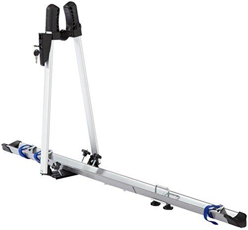 FISCHER Auto Dach Fahrradträger | TÜV GS geprüft | geeignet für ein Fahrrad | Beladung bis 15 kg |...