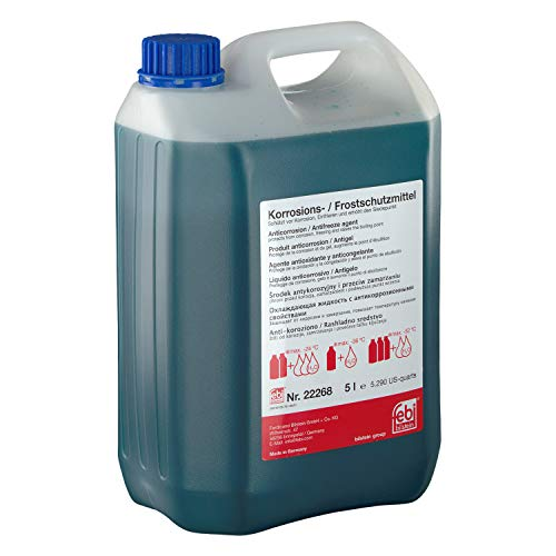 febi bilstein 22268 Frostschutzmittel G11 , 5 Liter