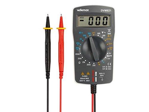 VELLEMAN - DVM821 Digital-Multimeter Ii 500V / Cat Iii 300 V-1999 Zählungen 176524