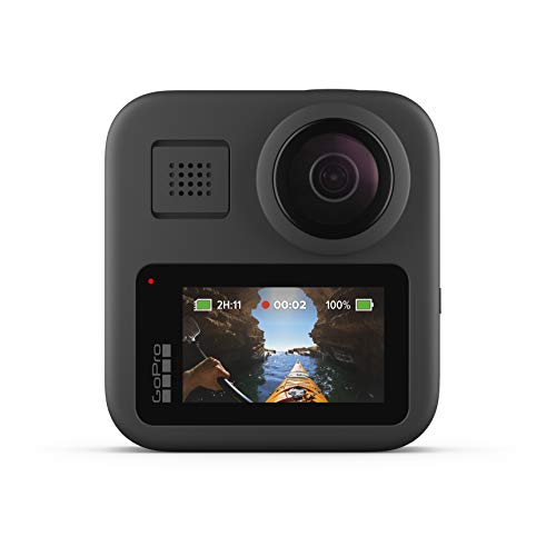 GoPro Max - wasserdichte 360-Grad-Digitalkamera mit unzerbrechlicher Stabilisierung, Touchscreen und...