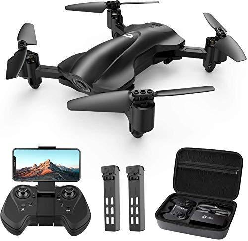 Holy Stone Faltbare GPS Drohne HS165 mit 2K Kamera HD Live Übertragung für Anfänger,RC Quadrocopter...