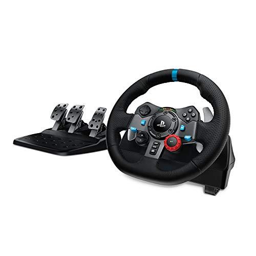 Logitech G29 Driving Force Gaming Rennlenkrad, Zweimotorig Force Feedback, 900° Lenkbereich,...