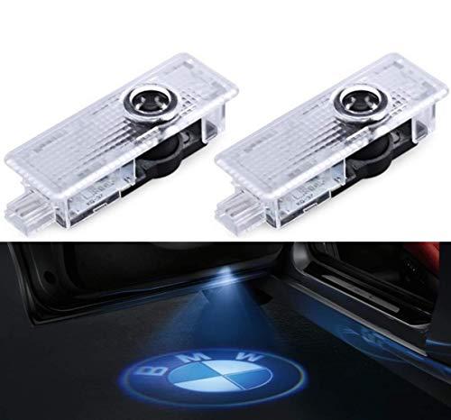 SMP® 2X BMW Logo Tür Projektor für BMW, LED Willkommens-Licht mit BMW Emblem - Türbeleuchtung -...